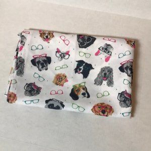 Cynthia Rowley Dogs with Glasses 60x84 Tablecloth